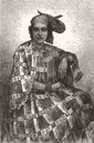 MADAGASCAR. Madecasse Lady of Ste Marie 1880 old antique vintage print picture